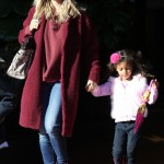 Heidi Klum Catches Lunch With Lou