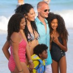 Kimora Lee Simmons Enjoys a Beach Day With her Kids