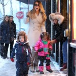 Mariah Carey Shops in Aspen With her Snow Babies