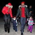 Mariah Carey & Family Stroll Through Aspen