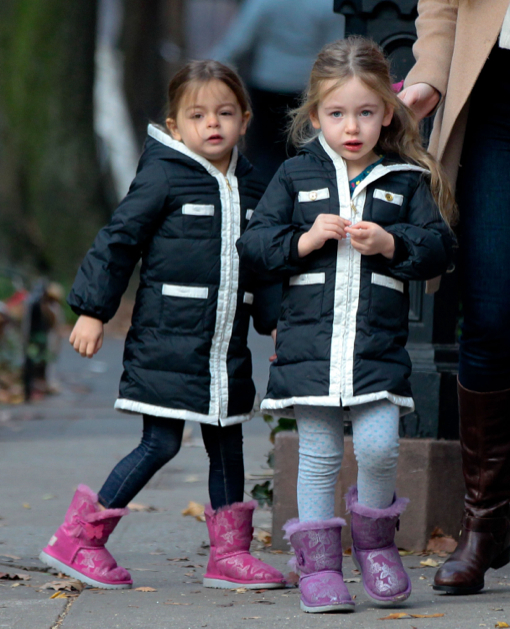 Marion & Tabitha Broderick Head To School