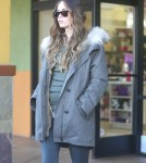 Exclusive... Pregnant Megan Fox & Brian Austin Green Shopping At Planet Beauty