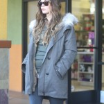 Megan Fox Hides Her Bump on a Cool Californian Day