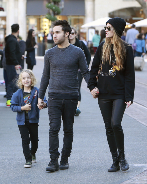 Pete Wentz Goes Christmas Shopping At The Grove