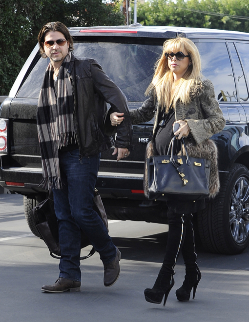 Pregnant Rachel Zoe Out And About In West Hollywood