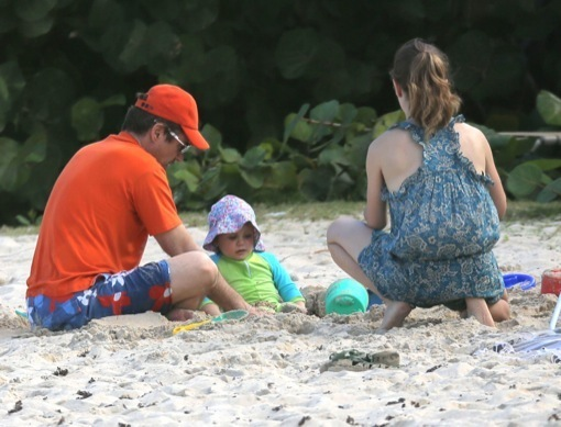 Exclusive Robert Downey Jr. & Family Enjoying A Day On