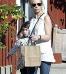 Exclusive... Sarah Michelle Gellar & Daughter Charlotte Leaving The Brentwood Country Mart