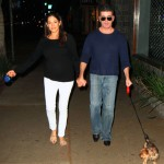 Simon Cowell & Lauren Silverman Catch Dinner With Their  Dogs