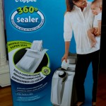 Tommee Tippee 360° Sealer Review: Making Diaper Time Stink a Little Less! #HolidayGiftGuide #Giveaway