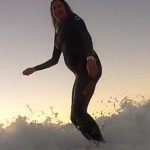 Woman Surfs Into 9 1/2 Months of Pregnancy