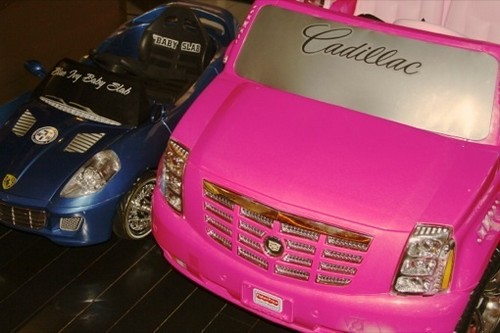 Beyonce's Daughter Blue Ivy Owns Two Mini Luxury Cars