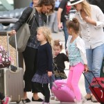 Jessica Alba's Cabo Vacation With Family Comes to an End