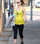 Olivia Wilde Fills Up After Her Workout