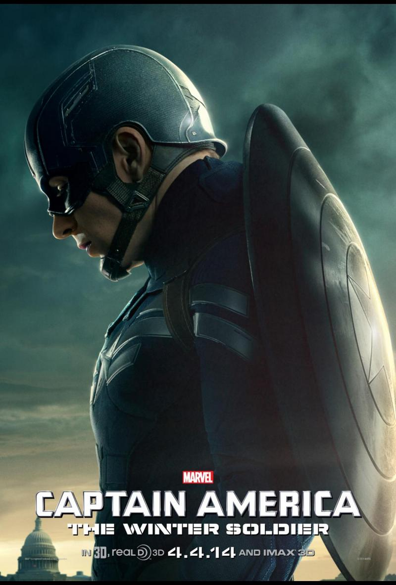 New Posters for Captain America: The Winter Soldier