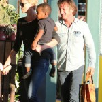 Charlize Theron & Sean Penn Take Jackson Grocery Shopping