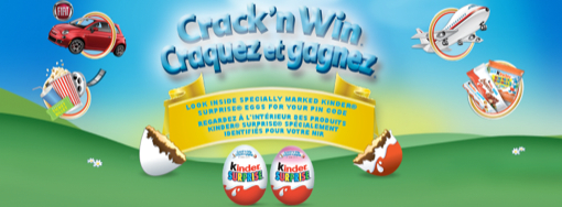 Test Your Luck With Kinder's Crack'n Win Contest #KinderMom