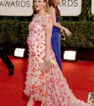 Pregnant Drew Barrymore Glows at the Golden Globes