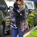 Fergie & Josh Duhamel Make a House Visit With Baby Axl