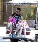 Semi-Exclusive... Freddie Prinze Jr. Takes His Daughter To The Zoo