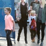 Gwen Stefani & Family Attend Cirque Du Soleil Performance