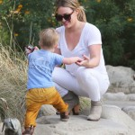 Hilary Duff & Luca Spend the Day Bonding at the Park