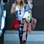 Hilary Duff Continues Her Mom Duties after Separation Announcement