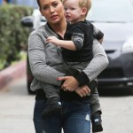 Hilary Duff & Luca: Sunday Flea Market Day