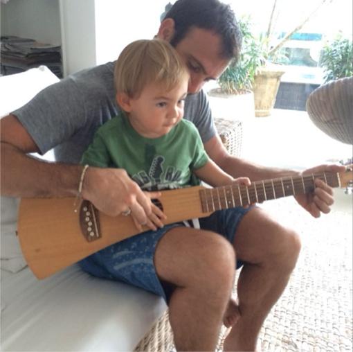 Alessandra Ambrosio's fiance Jamie Mazur Bonds With Son Noah
