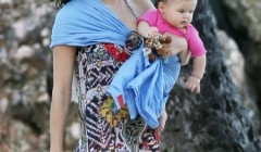 Exclusive... Jenna Dewan Spends Time With Everly In Puerto Rico