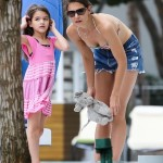 Katie Holmes and Suri Cruise Soak Up the Sun in Miami