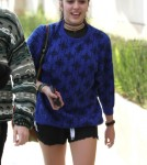 Lourdes Leon Out For Lunch At Il Pastaio