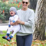 Molly Sims: Sunday Family Park Day