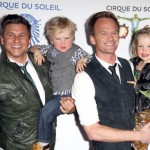 Neil Patrick Harris & David Burtka Take Their Twins to Cirque Du Soleil Totem Premiere
