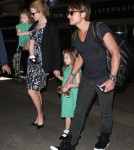 Nicole Kidman & Family Arriving On A Flight At LAX