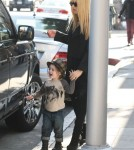 Rachel Zoe Out And About With Her Family