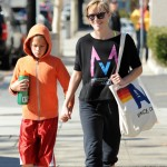 Reese Witherspoon & Deacon: Mother-Son Saturday Workout