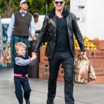 Robin Thicke Picks Up Groceries With Julian