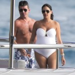 Simon Cowell & Lauren Silverman Have a Babymoon in France