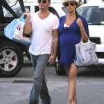 Simon Cowell & Lauren Silverman Continue Babymoon in St. Barts