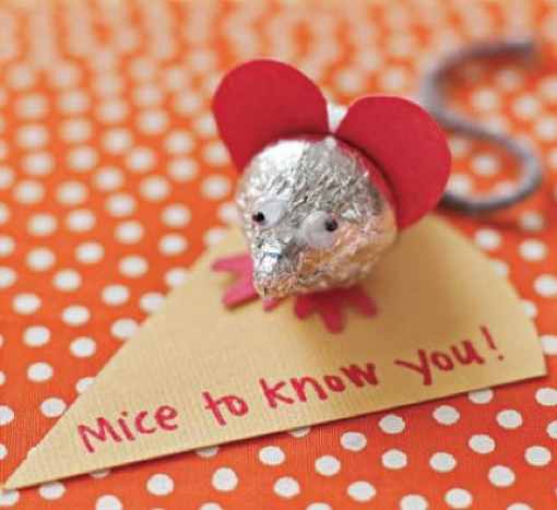 Toddler Fun: Valentine's Day Sweet Mice Craft