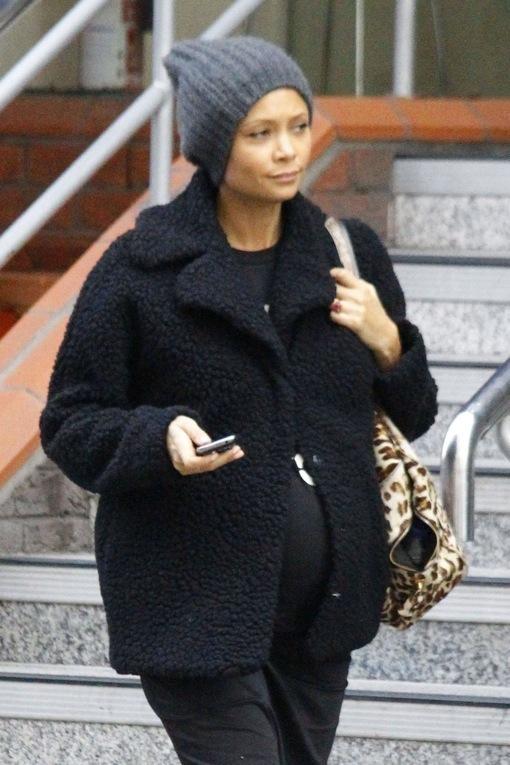 Thandie Newton Bumps Through London