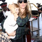 Gisele Bundchen & Vivian Take Off