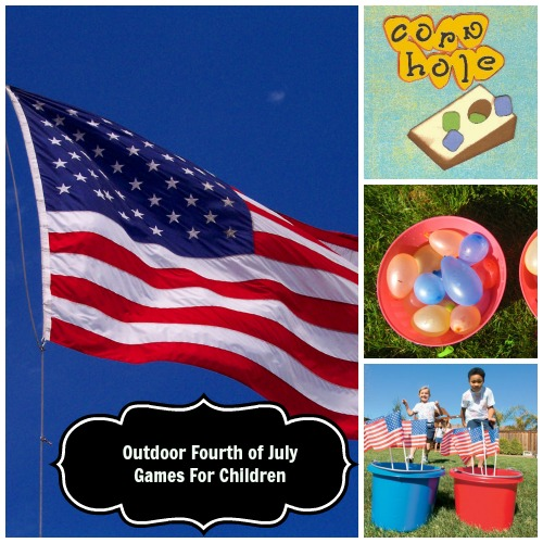 Outdoor Fourth of July Games That Kids Won't Tire Of