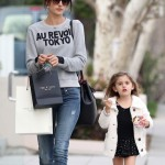 Alessandra Ambrosio & Anja: Wednesday Mother-Daughter Day