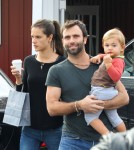 Semi-Exclusive... Alessandra Ambrosio & Family Get Breakfast Together
