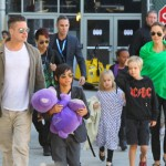 The Jolie-Pitt's Are Back in Los Angeles