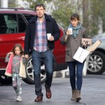 Ben Affleck & Jennifer Garner Catch Breakfast With Seraphina