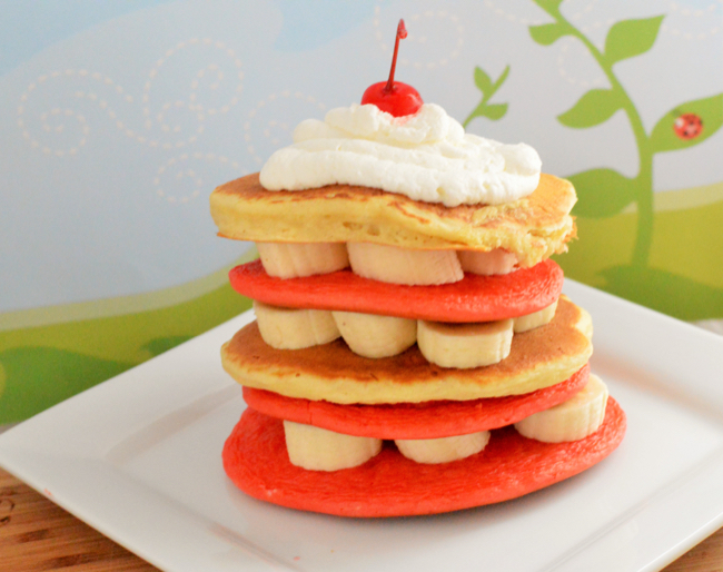 Celebrate Dr Seuss' Birthday With Cat in the Hat Pancakes