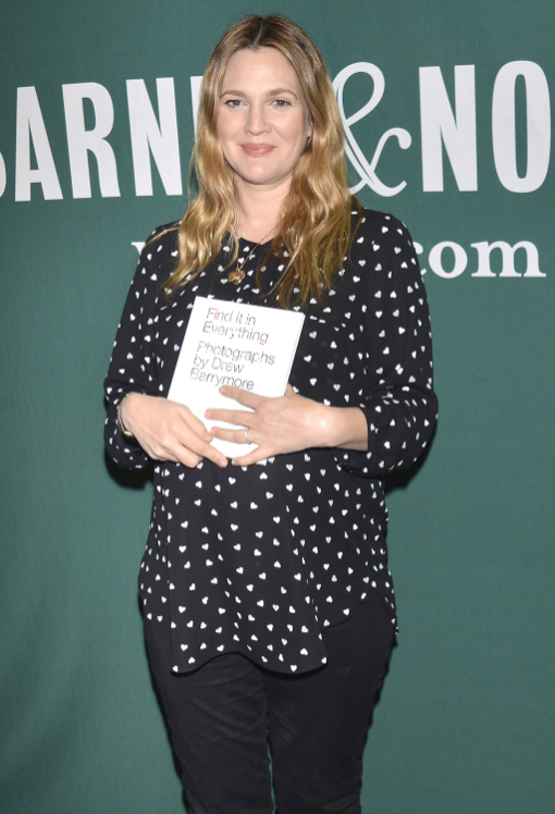 Drew Barrymore Book Signing In New York