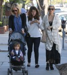 Semi-Exclusive... Pregnant Elsa Pataky Shops With Her Family In Santa Monica